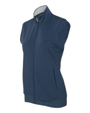 Ladies Adidas Full-Zip Club Vest