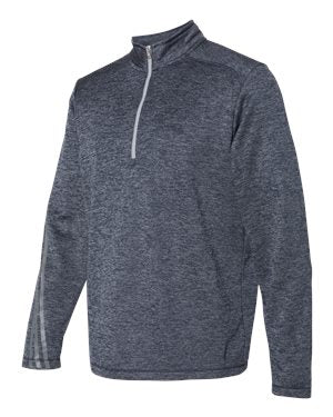 Adidas Brushed Terry Heather Quarter-Zip