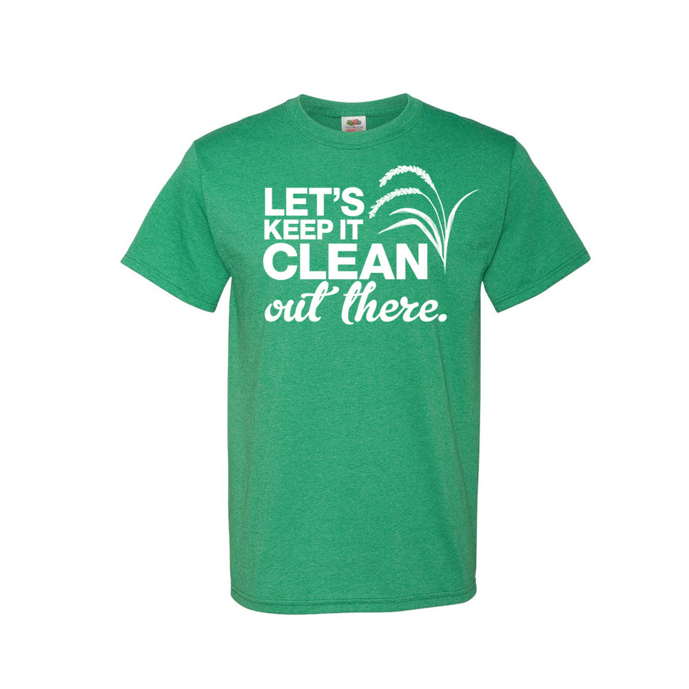 Keep It Clean Short Sleeve T-Shirt (Minimum of 24)
