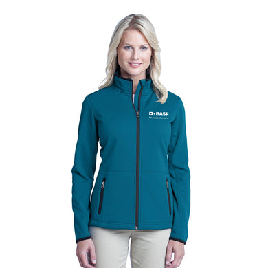 Ladies Port Authority Pique Fleece Jacket