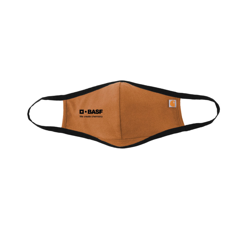 BASF Carhartt Face Mask - Carhartt Brown
