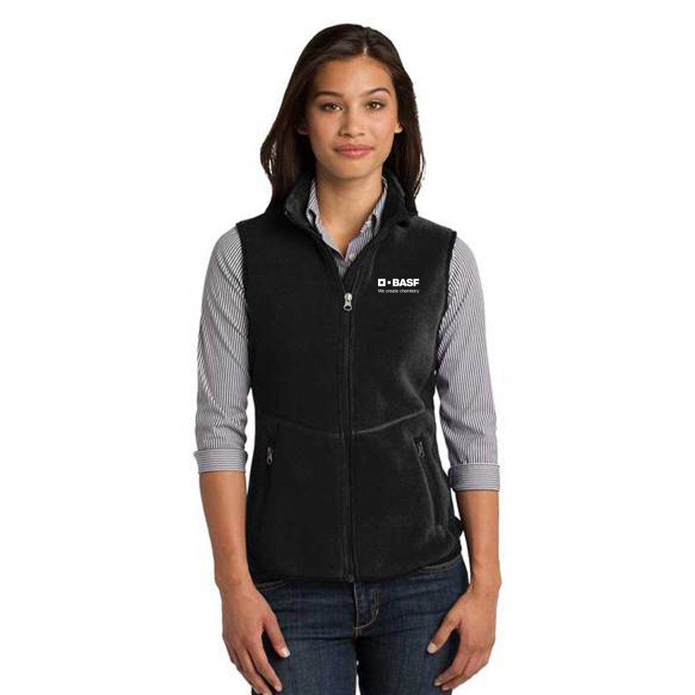 Ladies Port Authority R-Tek Pro Fleece Full-Zip Vest