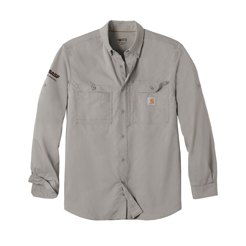 Carhartt Force ® Ridgefield Solid Long Sleeve Shirt