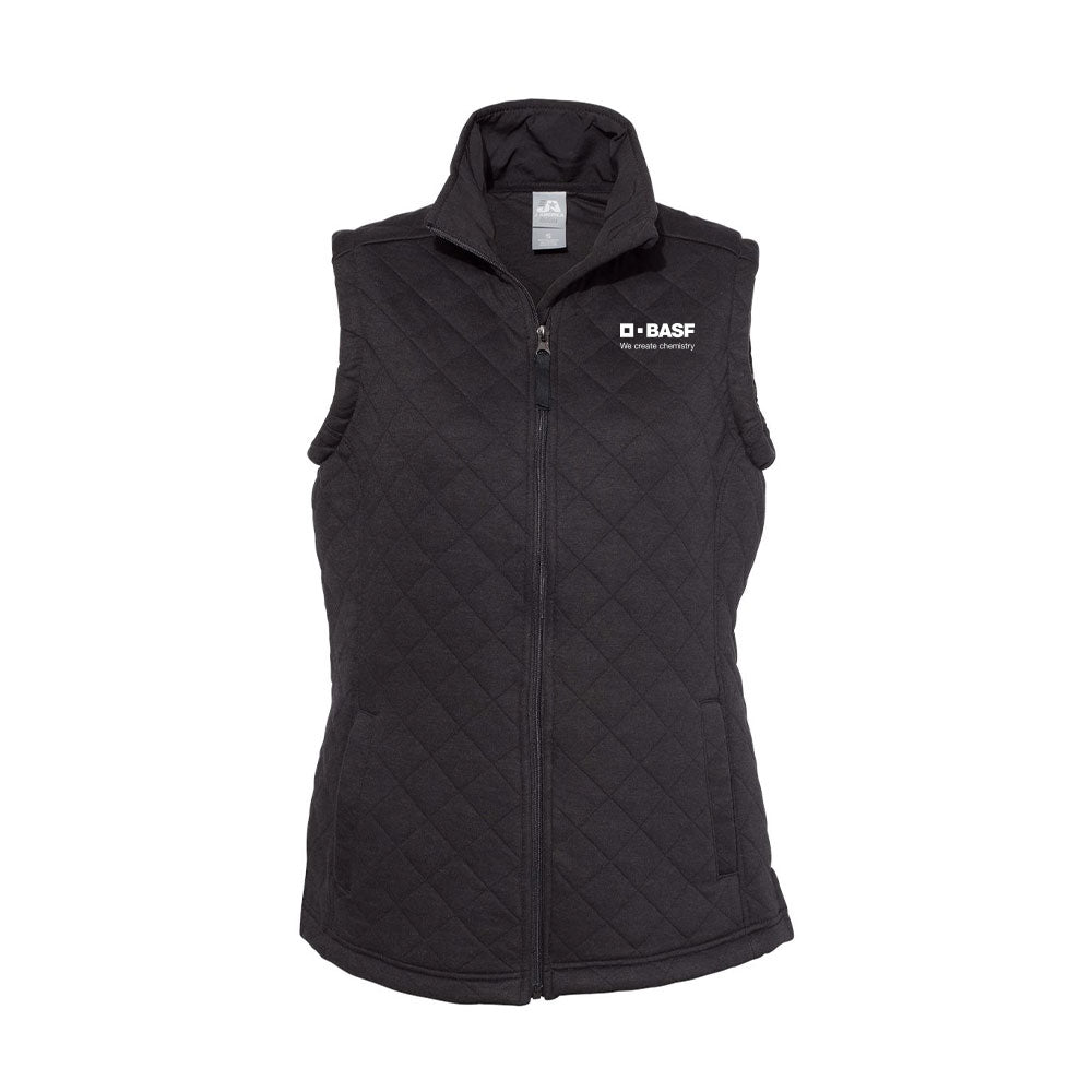 J. America - Women's Quilted Full-Zip Vest
