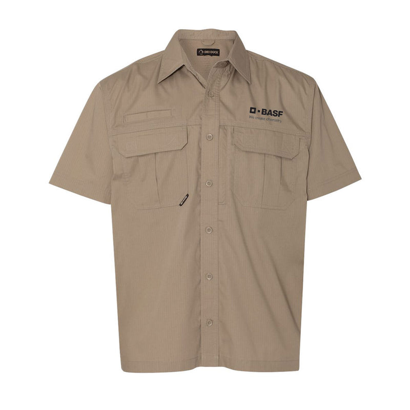 DRI DUCK - Short Sleeve Utility Ripstop Shirt