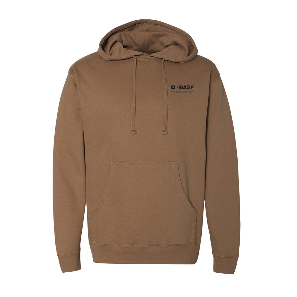 Midweight Hooded Pullover Sweatshirt