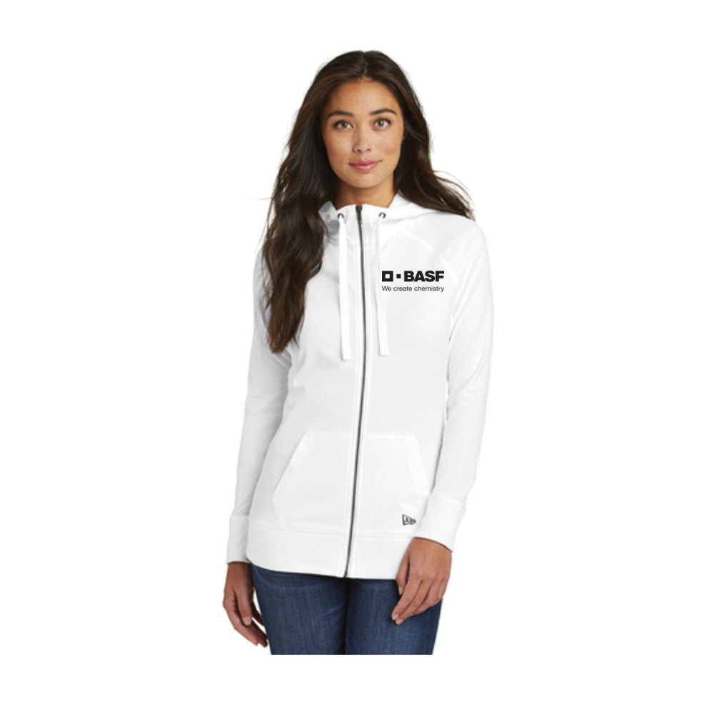 New Era Ladies Sueded Cotton Full-Zip Hoodie