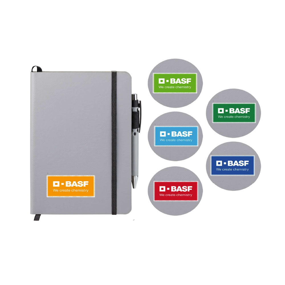 BASF Colors Patch Notebook & Pen (Bulk Order)
