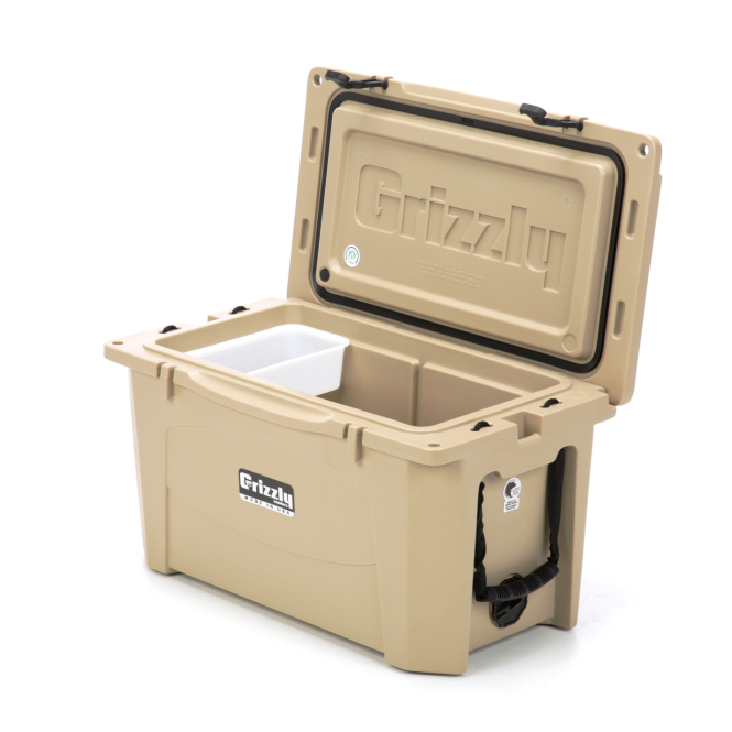 Grizzly 60 Quart Cooler (Multiple Colors Available)