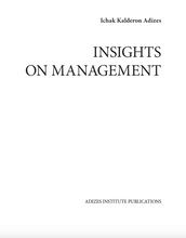 INSIGHTS ON MANAGEMENT