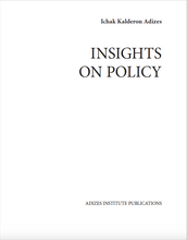 INSIGHTS ON POLICY