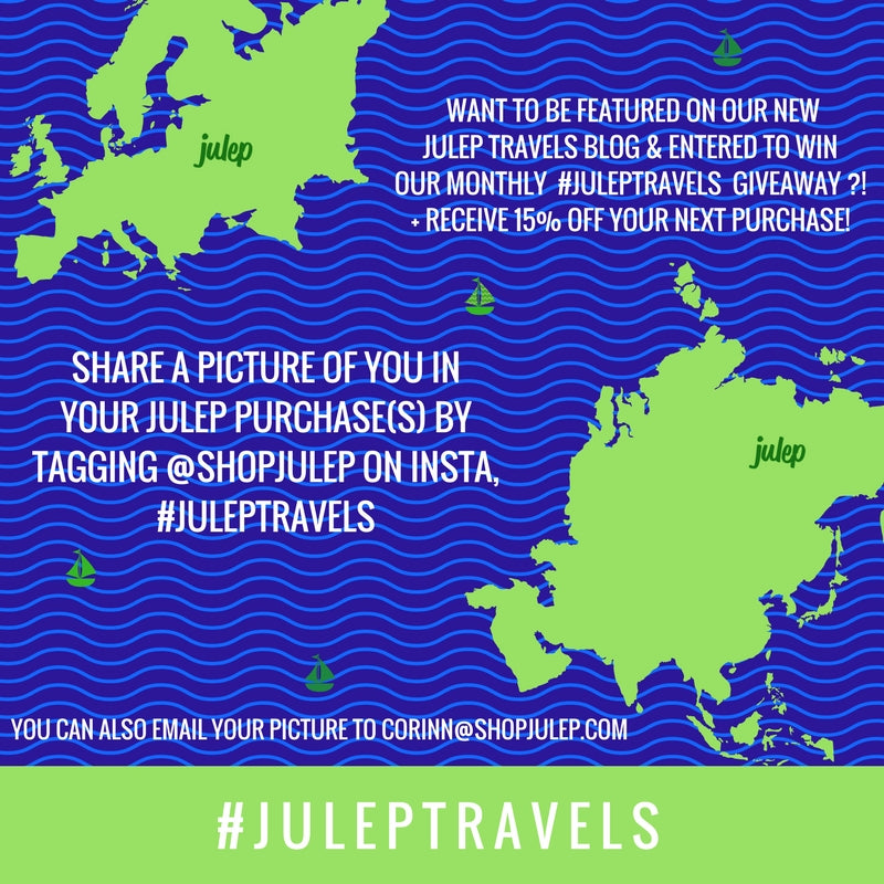 JULEP TRAVELS