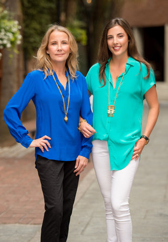 Barbara and Corinn Griesedieck, owners of julep