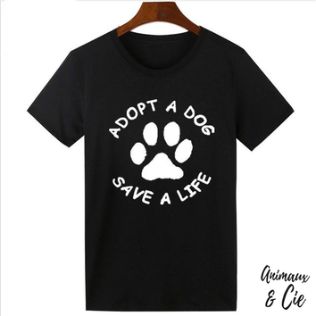 T-Shirt - Adopte a Dog