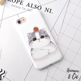 coque iPhone 6 & 7 chat