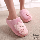 Chaussons Cartoon Chat - Animaux&Cie