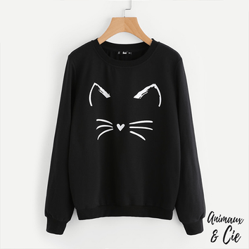 Sweat Chaton - Animaux&Cie