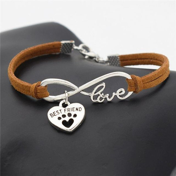 Bracelet Best Friend - patte de chat - love