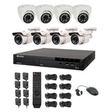 Vitek® Complete 8CH Digital CCSP 960H DVR 700TVL CCTV Surveillance Security Camera System