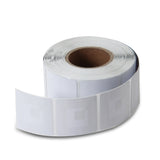 10000 RF 8.2Mhz Paper Security Labels White Value Package