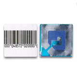 2000 RF 8.2Mhz Paper Security Label Barcode 4x4