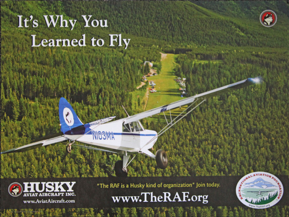 Husky Aircraft The RAF Poster