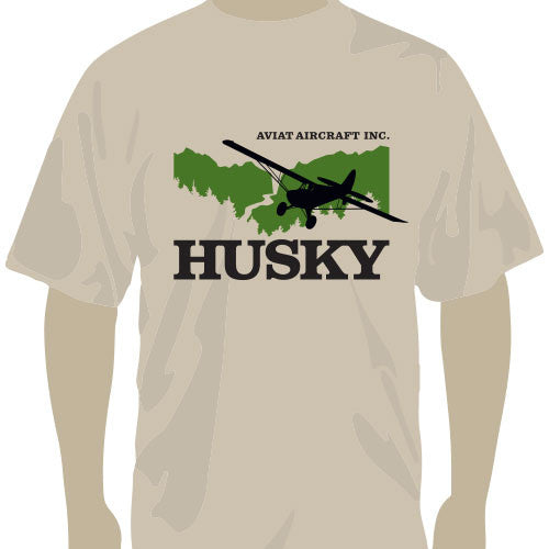 Husky Tan and Olive Canyon TShirt