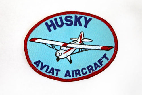 Aviat Husky Aircraft Patch