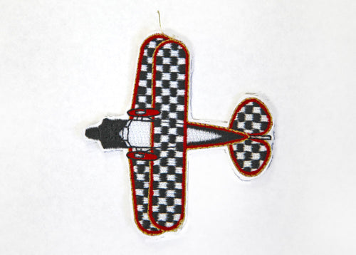 Pitts Aircraft Shaped Patch