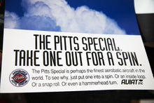 Pitts Special Poster, Take one out for a Spin