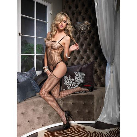 Leg Avenue Seamless Suspender Bodystocking