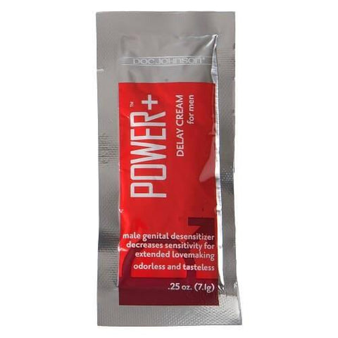 Doc Johnson Power Delay For Men-Cream Sachet