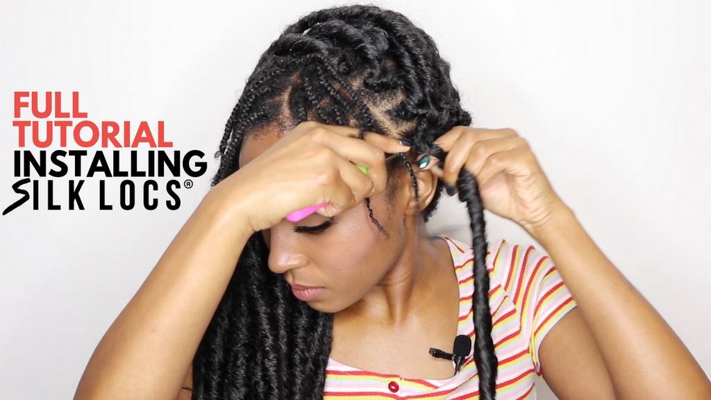 HOW TO INSTALL OUR BRAND NEW BOHO SILK LOCS