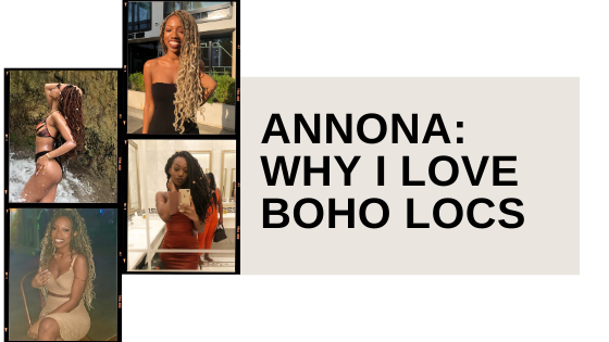Boho Locs: Faux Locs that are versatile sis!