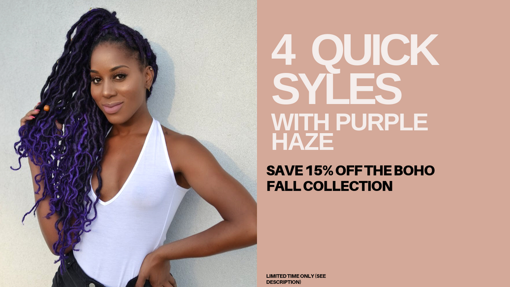 HOW TO: STYLE PURPLE HAZE