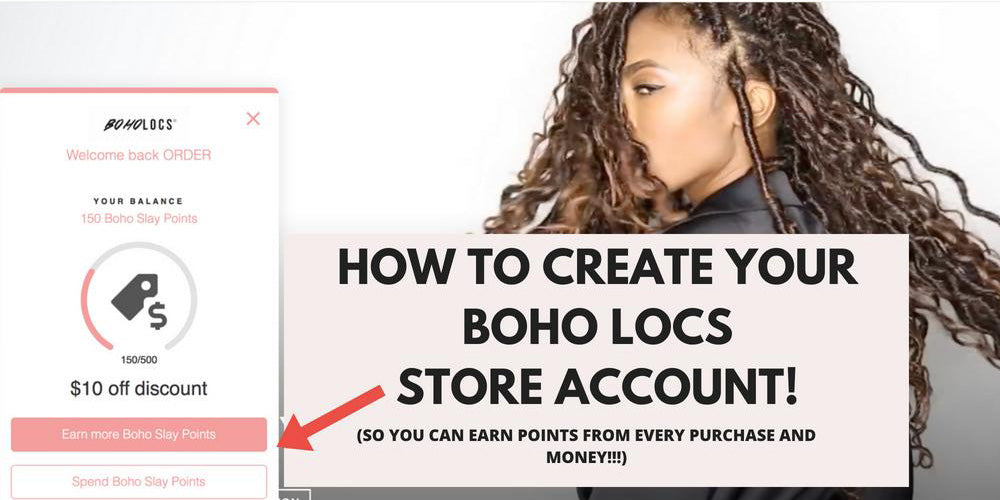 PART 1 - HOW TO CREATE YOUR BOHO LOCS STORE ACCOUNT!