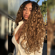 BEACH HOT FUDGE MERMAID LOCS