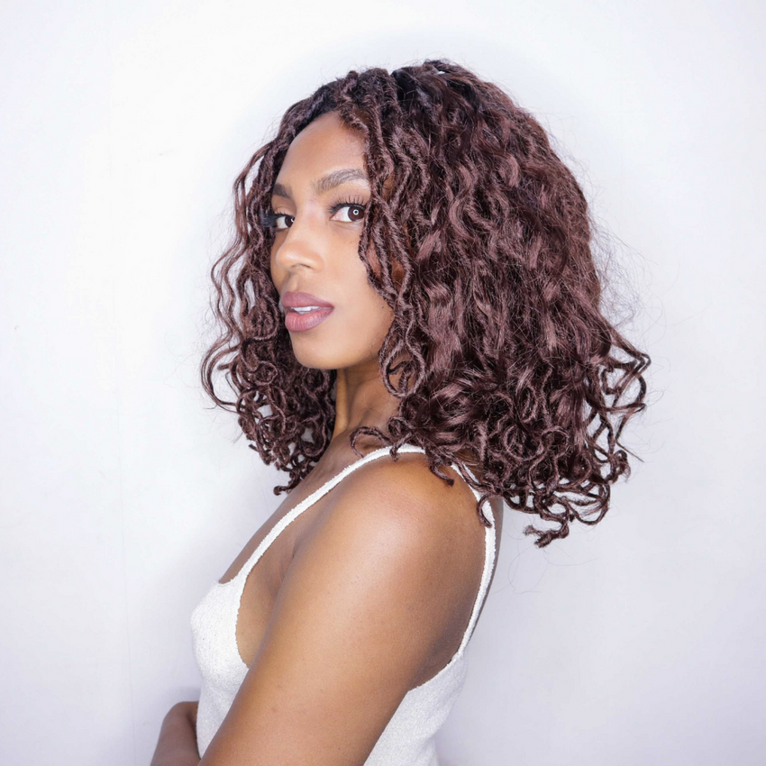BOB BEACH HOT AUBURN BOHO MERMAID LOCS® EXTRA VOLUME