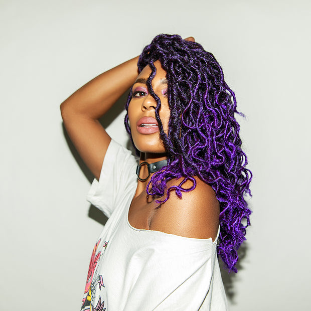 BOB PURPLE HAZE GODDESS LOCS®
