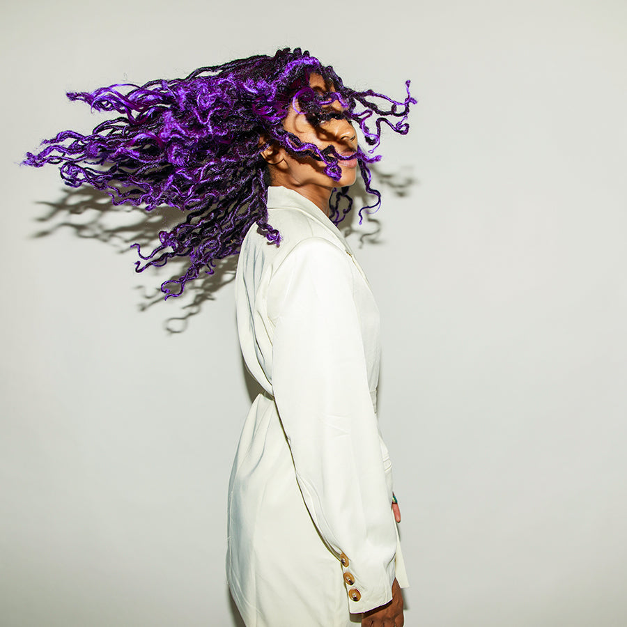 Bob Purple Haze Mermaid Locs®