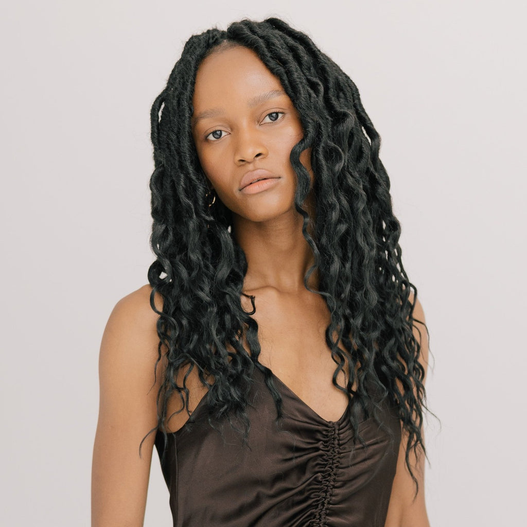 Bob Boho Queen Locs in Naturel