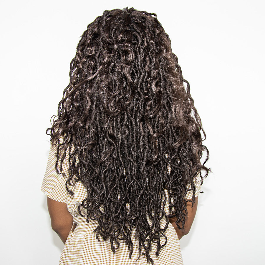 CHOCOLATE BOHO MERMAID LOCS® EXTRA VOLUME WITH LAYERS