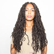 CHOCOLATE BOHO GODDESS LOCS® EXTRA VOLUME WITH LAYERS