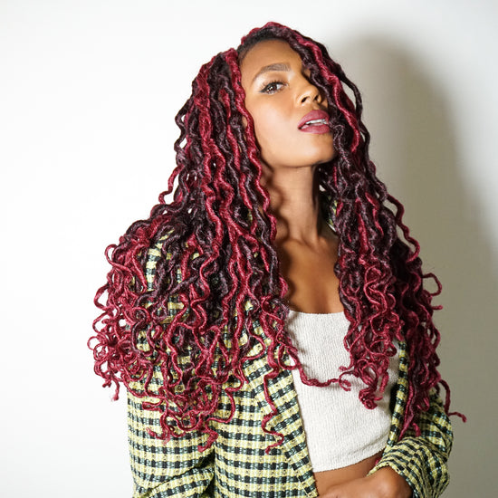 HOT SAUCE BOHO GODDESS LOCS®! LIMITED EDITION