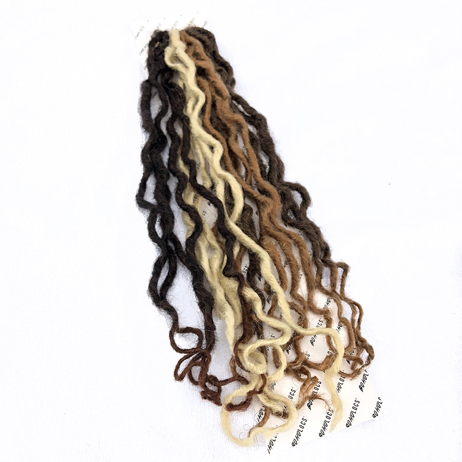 "BLONDE BOHO HIGHLIGHTS  22"" SINGLE PACK"