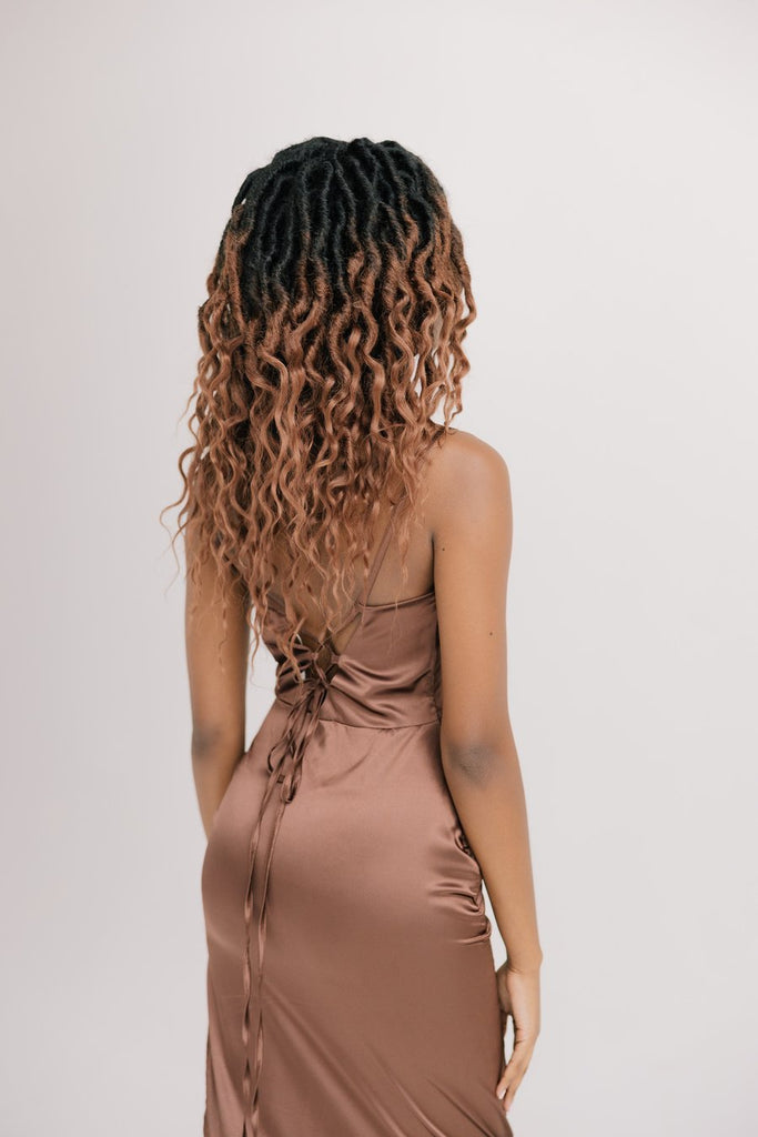 Boho Distressed Queen Kit in Hot Bronde 16""