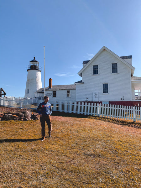 The pemaquid lighthouse in all its splendor