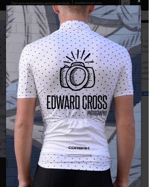 Put my Company Logo on a Bicycle Jersey