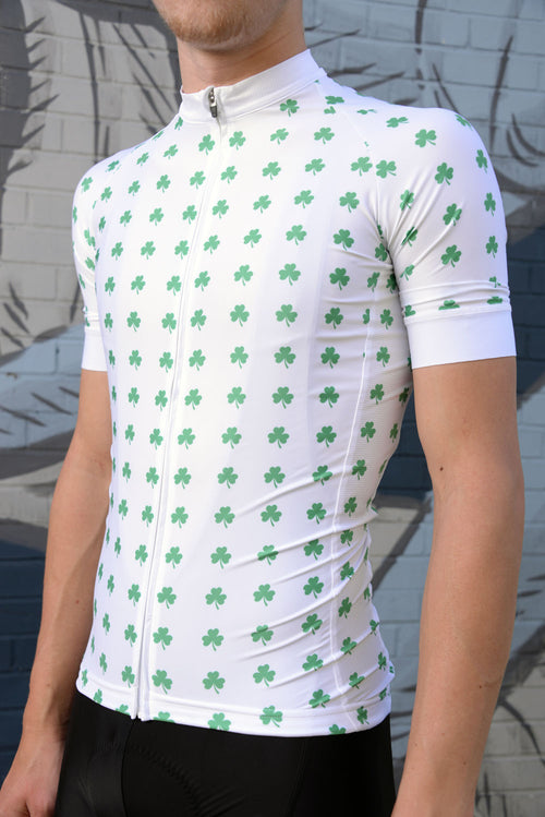 Men's Saint Patrick's Day Luck By The Numbers Jersey - White