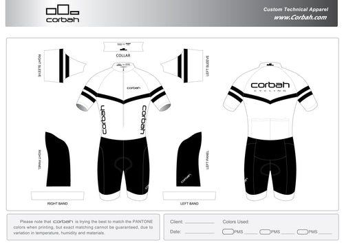 GC Short Sleeve Peloton Suit